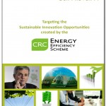 Targeting the Sustainable Innovation Opportunities Created by the CRC Energy Efficiency Scheme - Report Cover